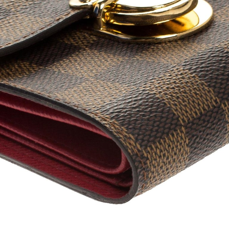 Louis Vuitton Damier Ebene Canvas Koala Wallet For Sale 3