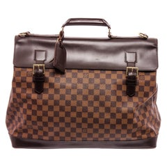 Louis Vuitton Damier Ebene Canvas Leather West End PM Bag