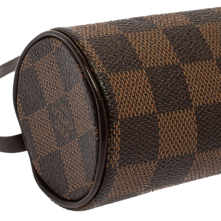 Louis Vuitton Damier Ebene Canvas Papillon Pouch For Sale 2