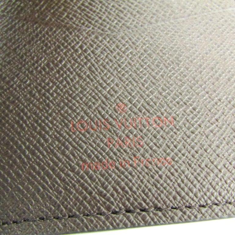 Louis Vuitton Damier Ebene Canvas Pocket Organizer For Sale 1