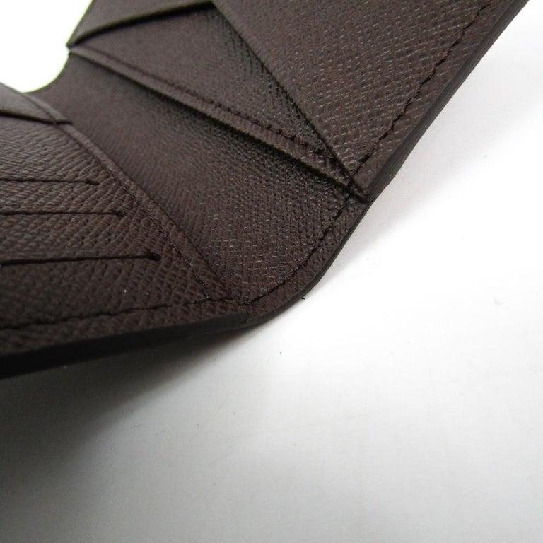 Louis Vuitton Damier Ebene Canvas Pocket Organizer For Sale 3
