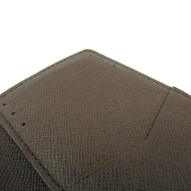 Louis Vuitton Damier Ebene Canvas Pocket Organizer For Sale 4