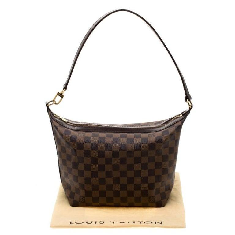 Louis Vuitton Damier Ebene Canvas Portobello PM Bag For Sale 7