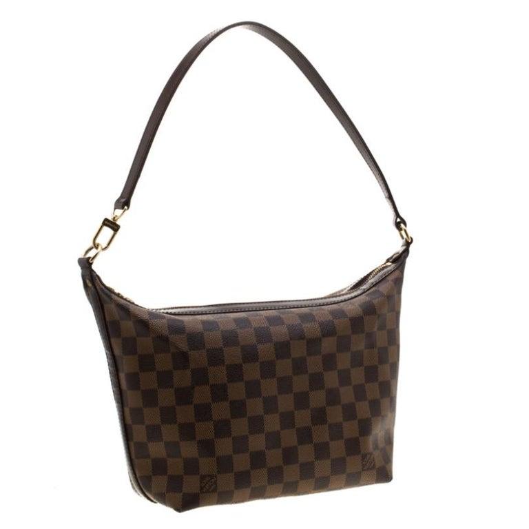 Louis Vuitton Damier Ebene Canvas Portobello PM Bag In Good Condition For Sale In Dubai, Al Qouz 2