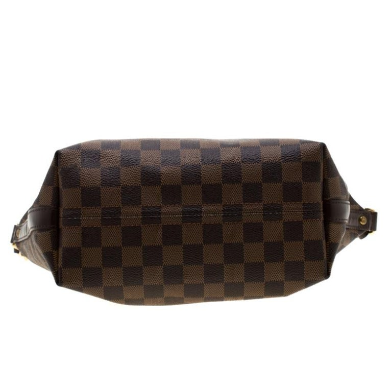 Louis Vuitton Damier Ebene Canvas Portobello PM Bag For Sale 1