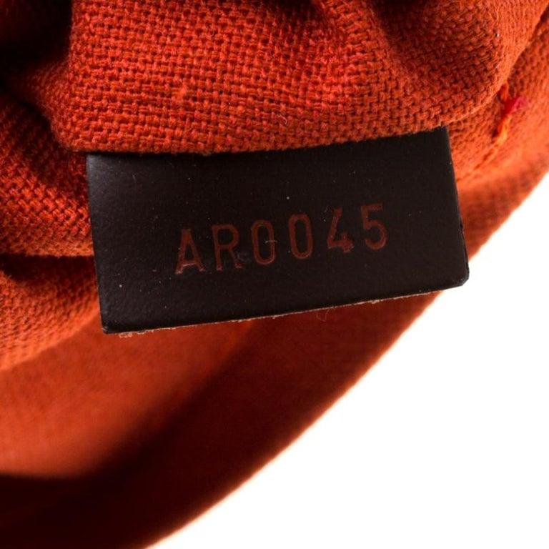 Louis Vuitton Damier Ebene Canvas Portobello PM Bag For Sale 2