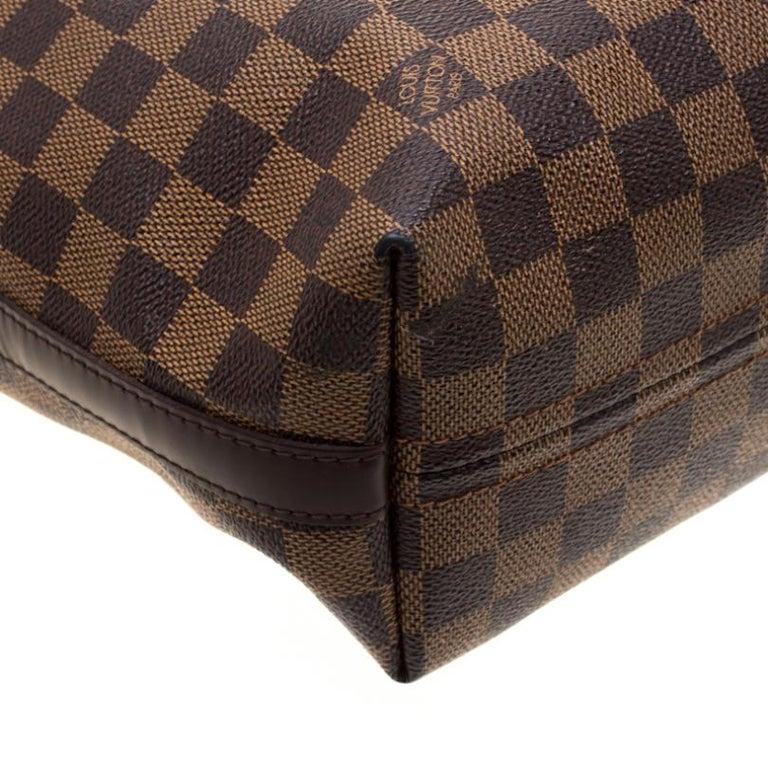 Louis Vuitton Damier Ebene Canvas Portobello PM Bag For Sale 4