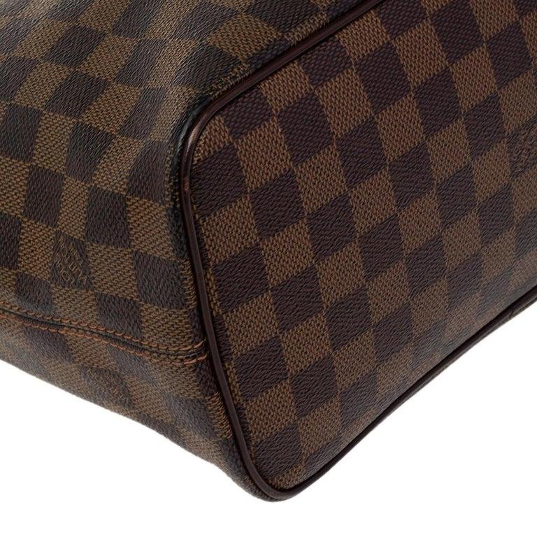 Louis Vuitton Damier Ebene Canvas Saleya PM Bag For Sale 5