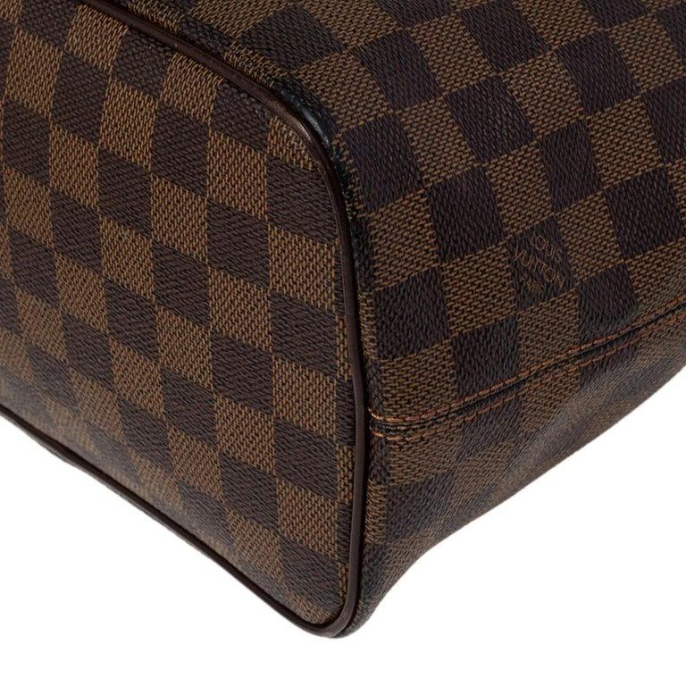 Louis Vuitton Damier Ebene Canvas Saleya PM Bag For Sale 6
