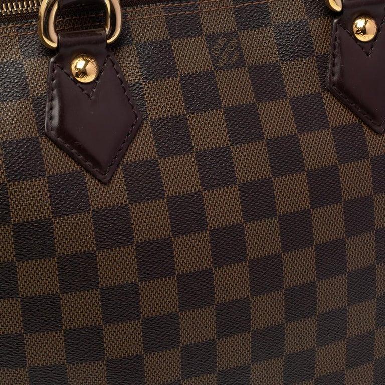 Louis Vuitton Damier Ebene Canvas Saleya PM Bag For Sale 7