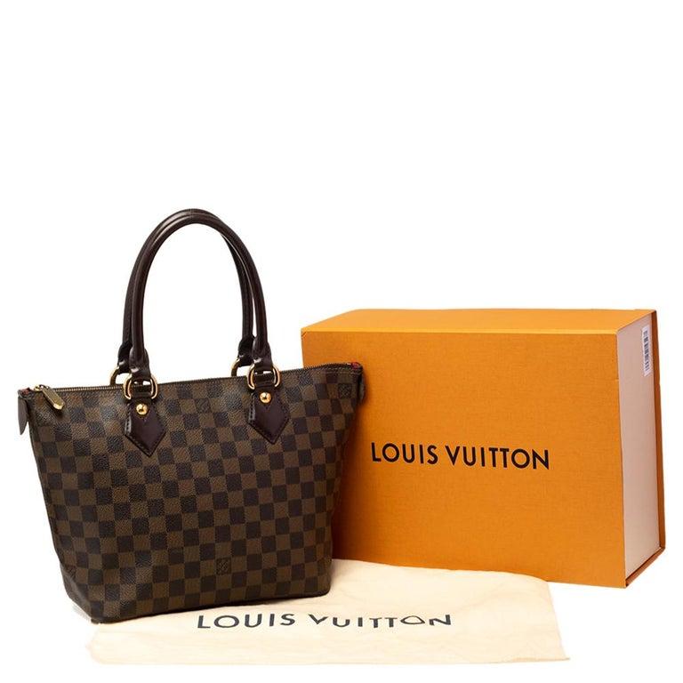Louis Vuitton Damier Ebene Canvas Saleya PM Bag For Sale 8