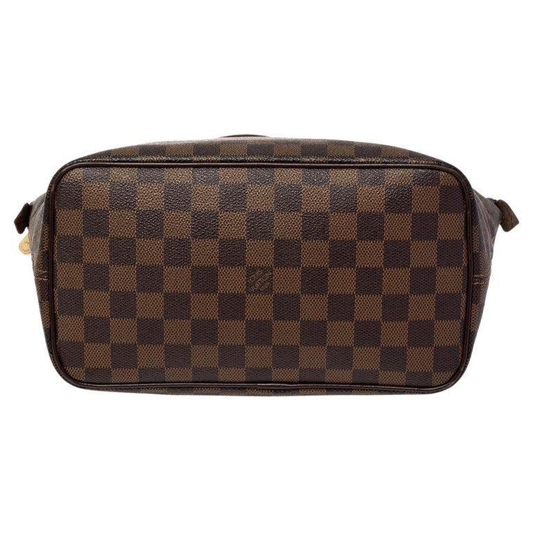 Women's Louis Vuitton Damier Ebene Canvas Saleya PM Bag For Sale