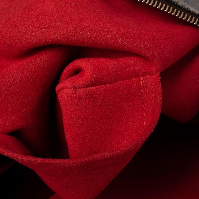 Louis Vuitton Damier Ebene Canvas Saleya PM Bag For Sale 3