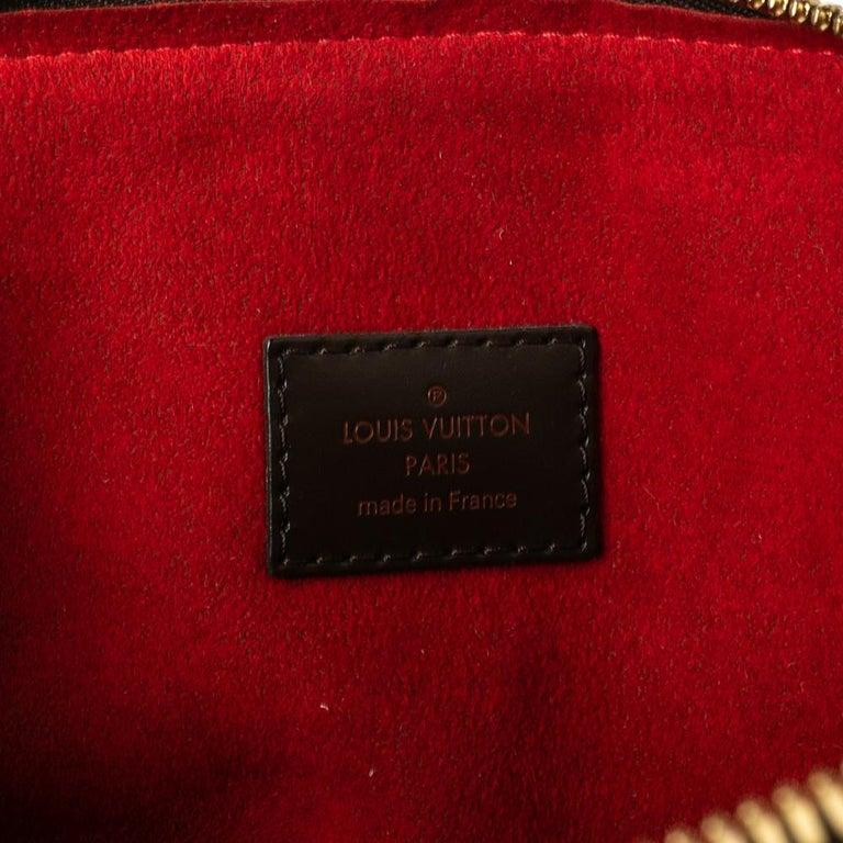 Louis Vuitton Damier Ebene Canvas Trevi GM Bag For Sale 5