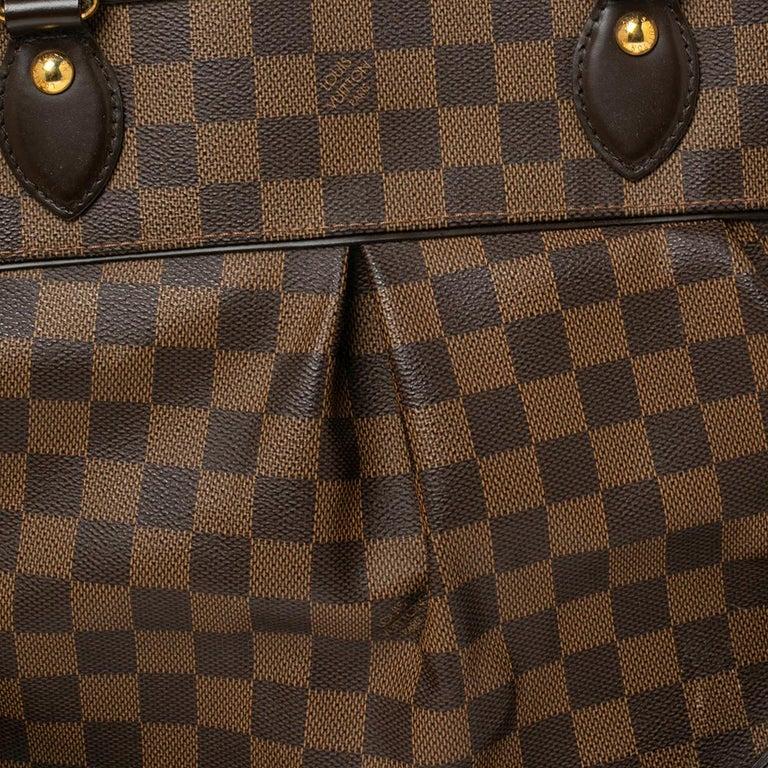 Louis Vuitton Damier Ebene Canvas Trevi GM Bag For Sale 3