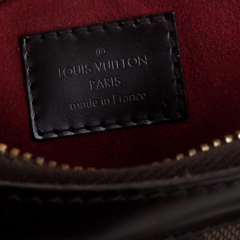 Louis Vuitton Damier Ebene Canvas Trevi PM Bag For Sale 6