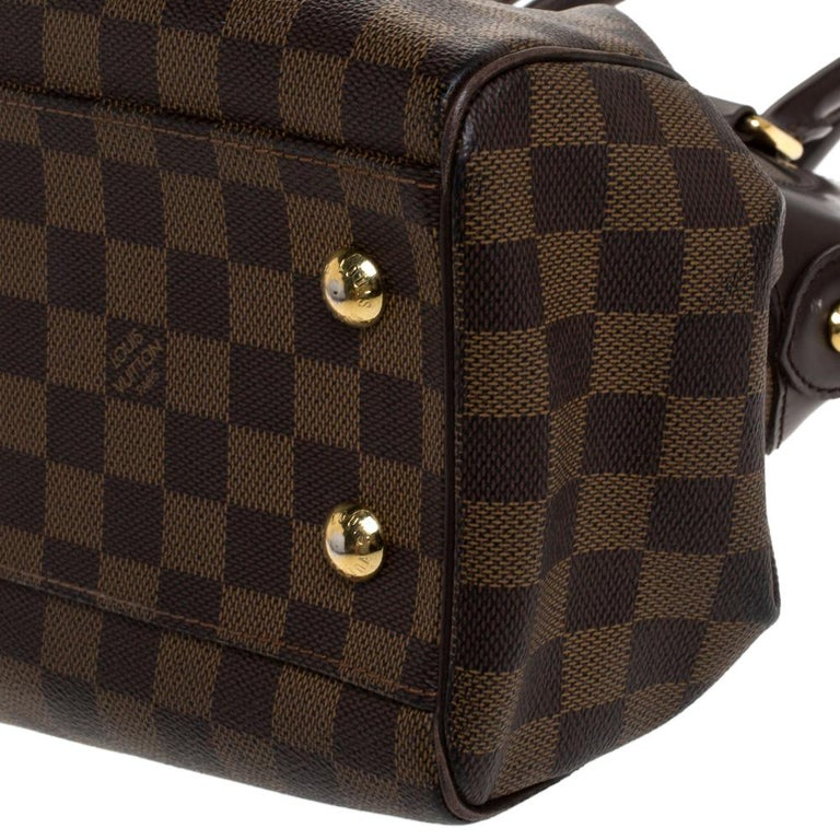 Louis Vuitton Damier Ebene Canvas Trevi PM Bag For Sale 5