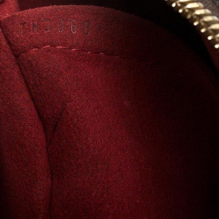 Louis Vuitton Damier Ebene Canvas Trevi PM Bag For Sale 7