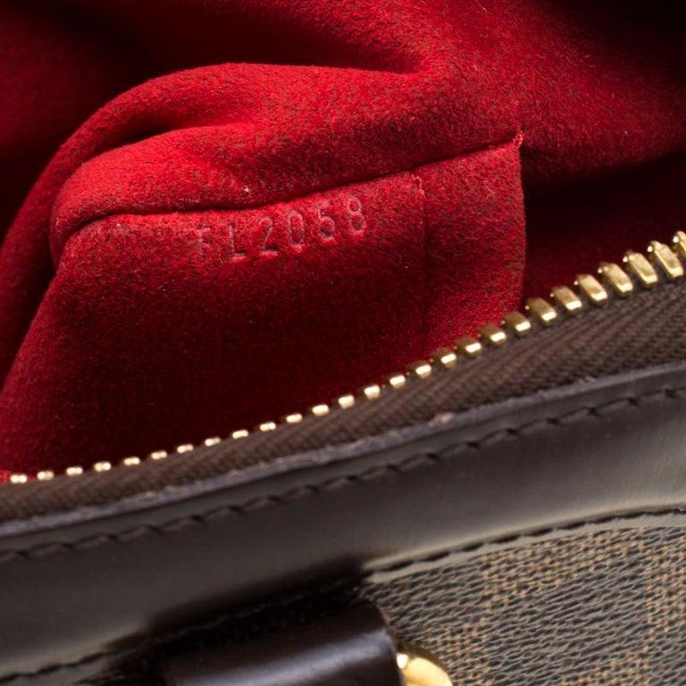 Louis Vuitton Damier Ebene Canvas Trevi PM Bag For Sale 1