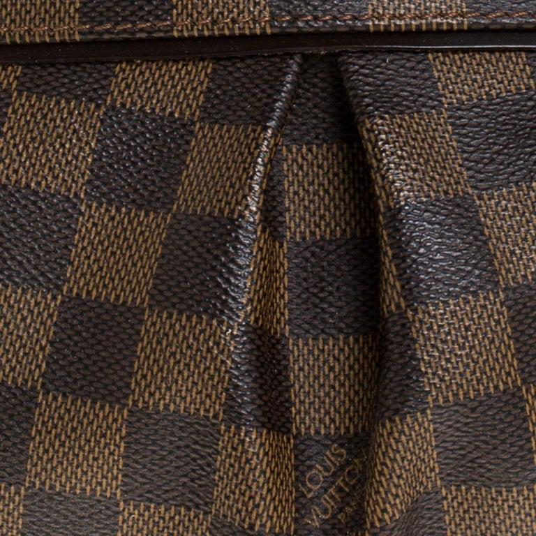 Louis Vuitton Damier Ebene Canvas Trevi PM Bag For Sale 2