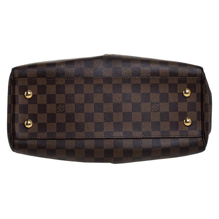 Louis Vuitton Damier Ebene Canvas Trevi PM Bag For Sale 1