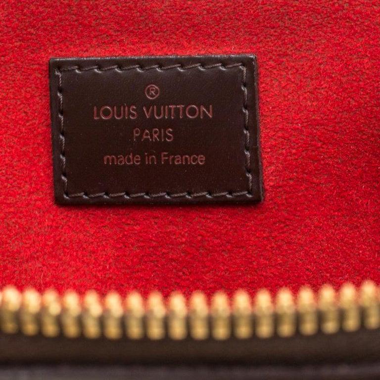 Louis Vuitton Damier Ebene Canvas Trevi PM Bag For Sale 3