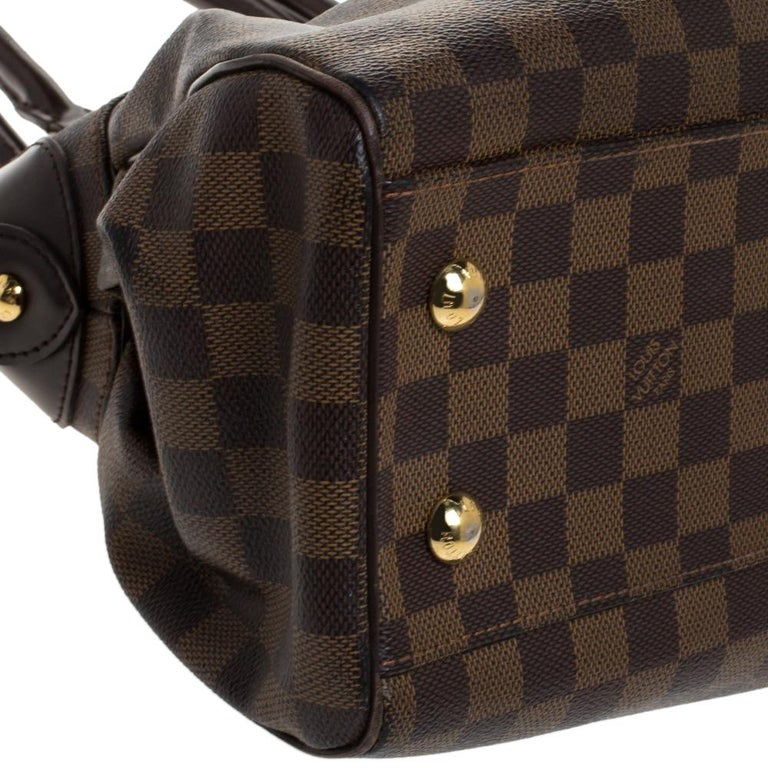 Louis Vuitton Damier Ebene Canvas Trevi PM Bag For Sale 3