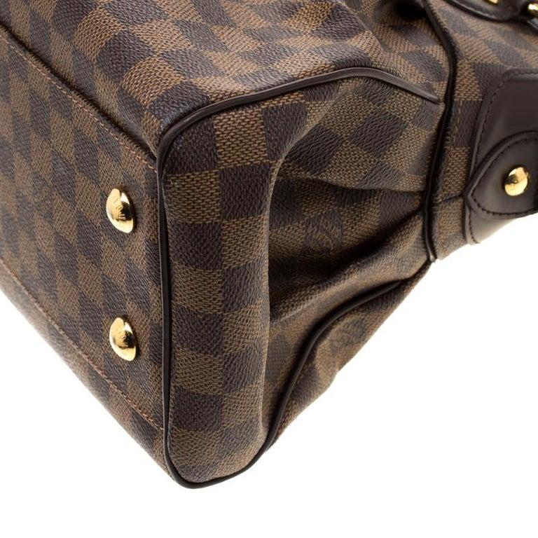 Louis Vuitton Damier Ebene Canvas Trevi PM Bag For Sale 4