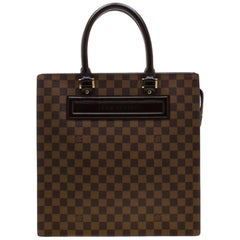 Louis Vuitton Damier Ebene Canvas Venice Sac Plat GM Bag