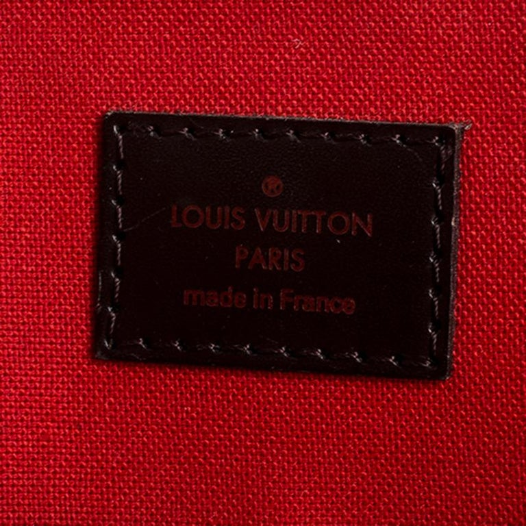 Louis Vuitton Damier Ebene Canvas Verona MM Bag For Sale 6