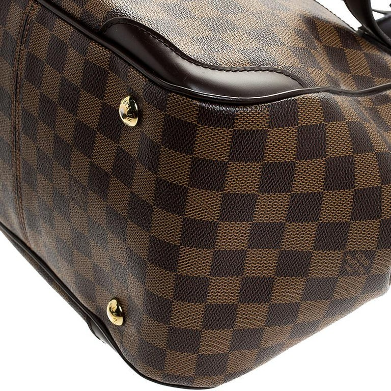 Louis Vuitton Damier Ebene Canvas Verona MM Bag For Sale 3