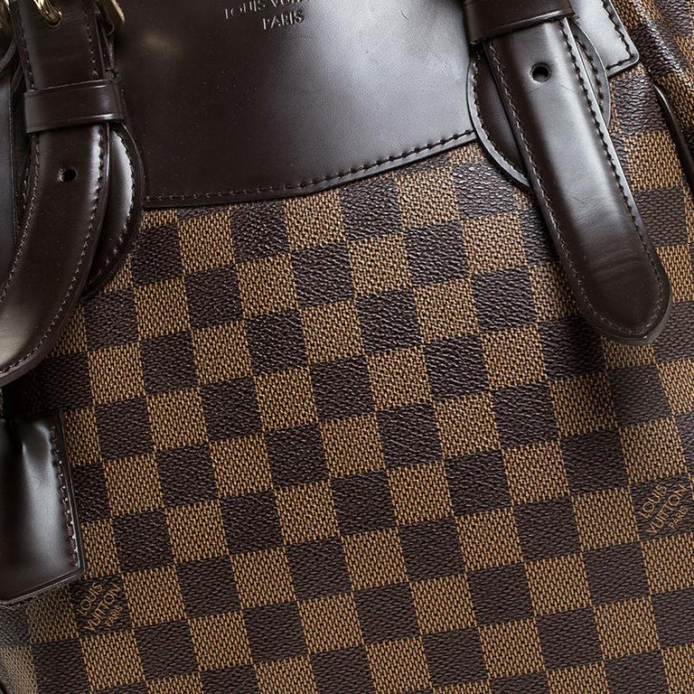 Louis Vuitton Damier Ebene Canvas Verona MM Bag For Sale 4