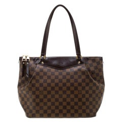 Louis Vuitton Damier Ebene Canvas Westminster GM Bag