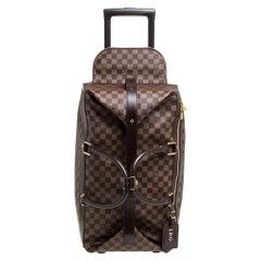 Louis Vuitton Damier Ebene Coated Canvas Eole Rolling Luggage 50 cm