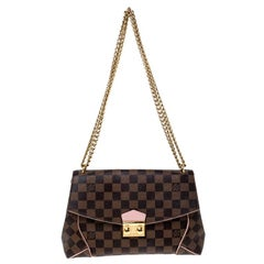 Louis Vuitton Damier Ebene Croisette Shoulder Bag
