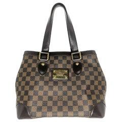 Louis Vuitton Damier Ebene Hampstead PM Shoulder Bag