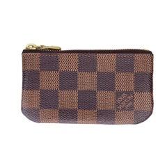 Louis Vuitton Damier Ebene Keychain Pochette ID Cardholder