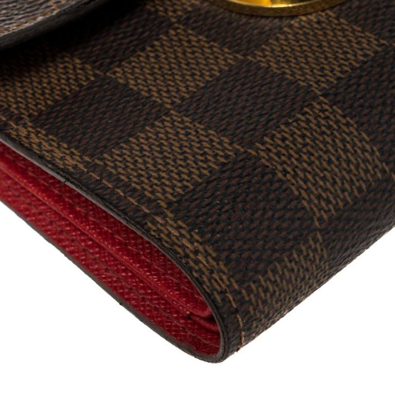 Louis Vuitton Damier Ebene Koala Wallet For Sale 6