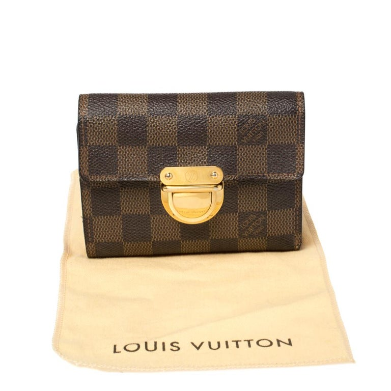 Louis Vuitton Damier Ebene Koala Wallet For Sale 7