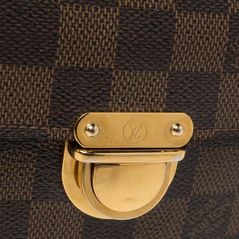 Women's Louis Vuitton Damier Ebene Koala Wallet For Sale