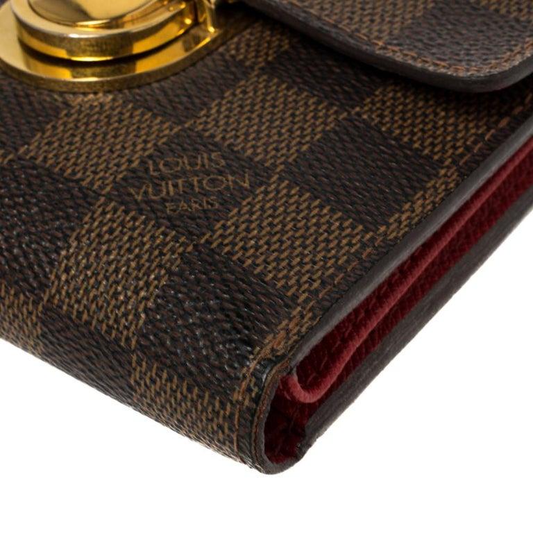 Louis Vuitton Damier Ebene Koala Wallet For Sale 3