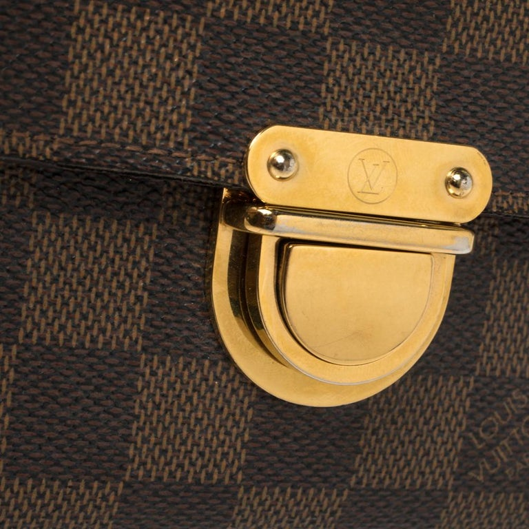 Louis Vuitton Damier Ebene Koala Wallet For Sale 4