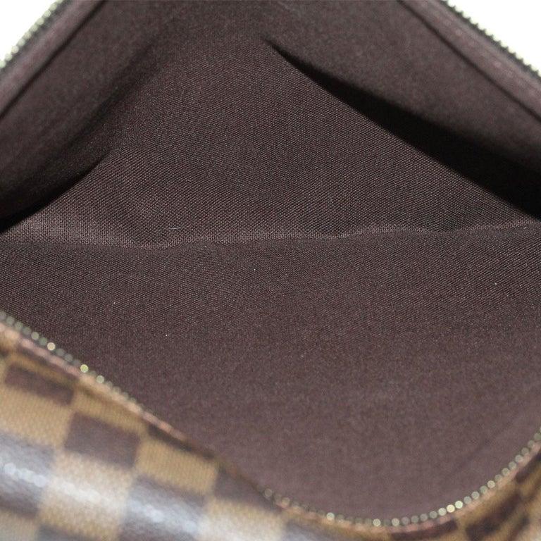 Louis Vuitton Damier Ebene MM Messenger Bag For Sale 6