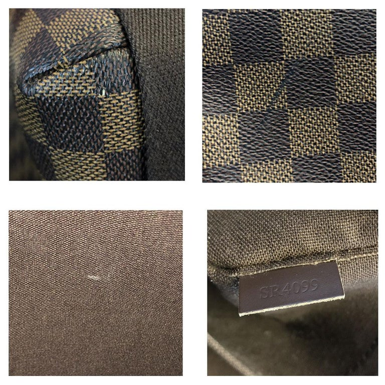 Louis Vuitton Damier Ebene MM Messenger Bag For Sale 7