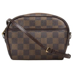 Louis Vuitton Damier Ebene Pochette Ipanema Bag