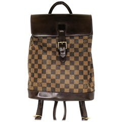 Louis Vuitton Damier Ebene Soho Backpack