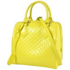LOUIS VUITTON Damier facet Speedy Cube PM Womens handbag M48902 Jaune