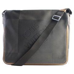 Louis Vuitton Damier Geant 19lr0501 Terre Coated Canvas Messenger Bag