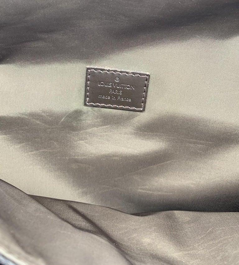 LOUIS VUITTON Damier Geant Messenger Bag Black For Sale 1