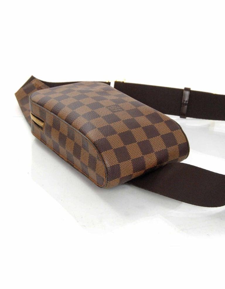a86b20e9bdcd Louis Vuitton Damier Geronimos Waist Pouch Belt Bag Fanny Pack For Sale 1